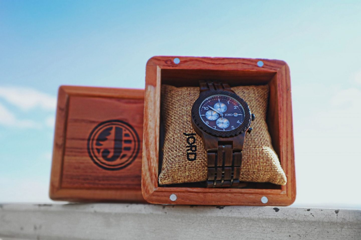 Wooden handmade watch by Jord / Review and Giveaway