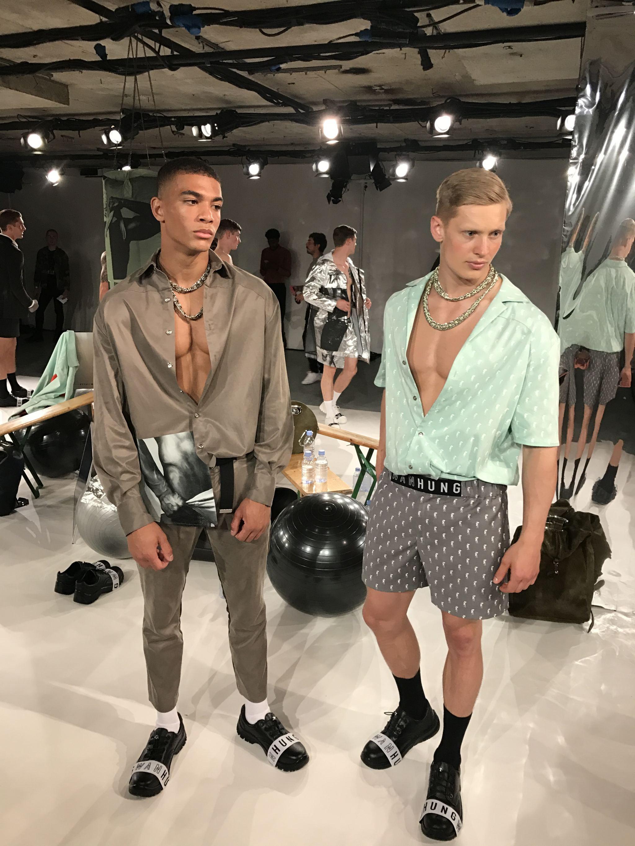 WAN HUNG London fashion week men's ss18