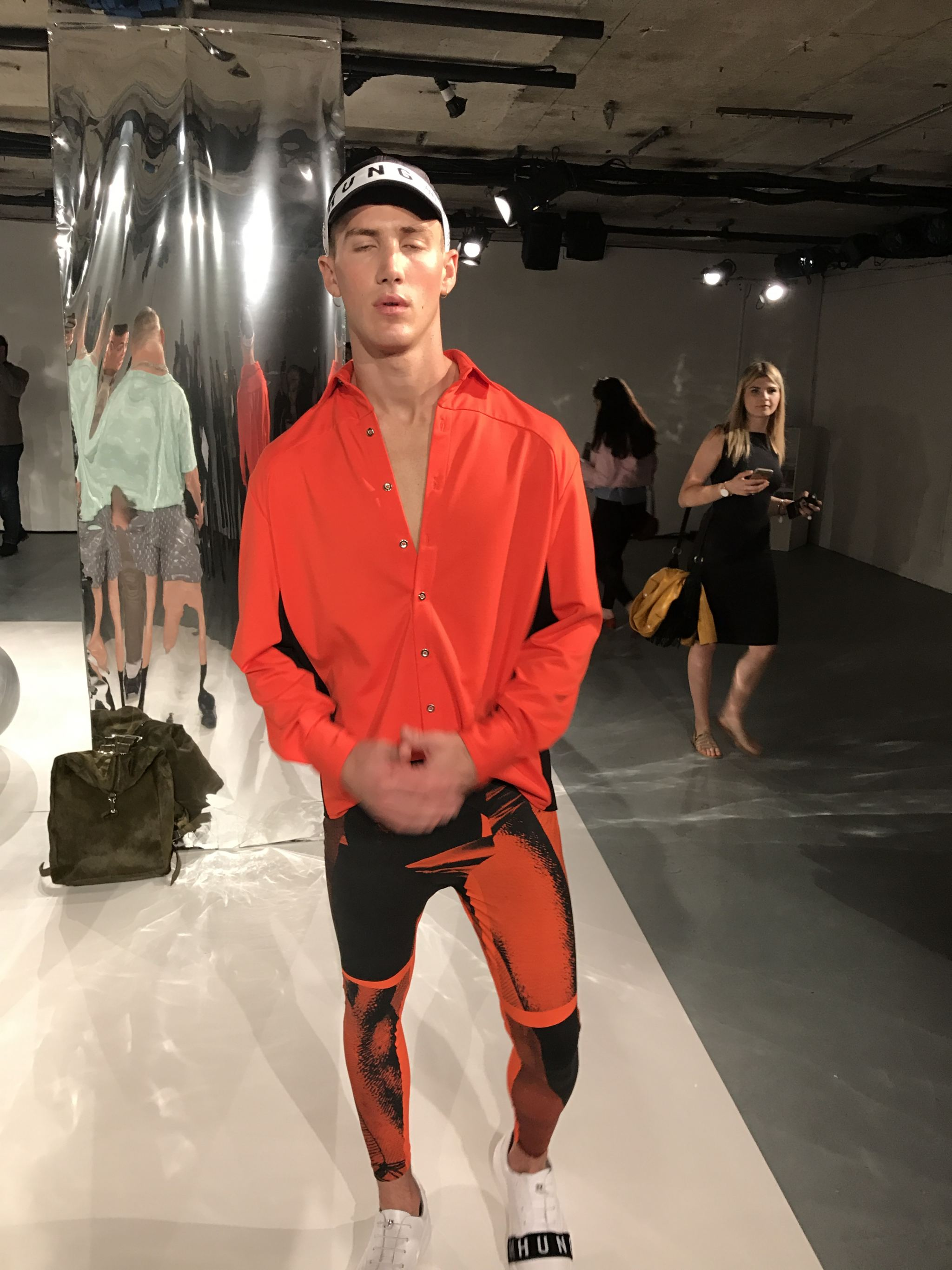 WAN HUNG London fashion week men's