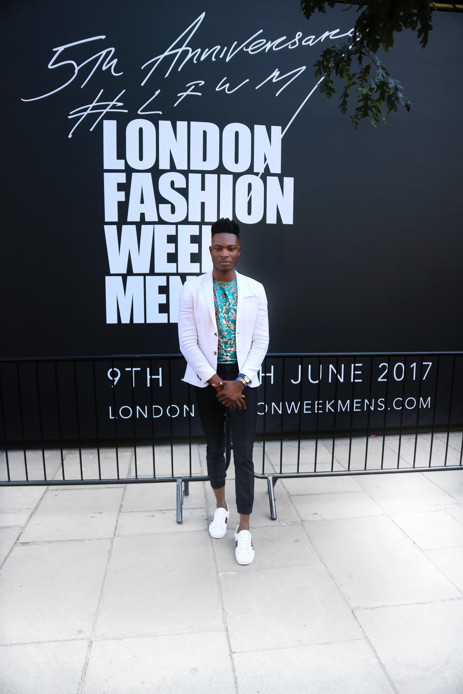 London fashion week men's ss18