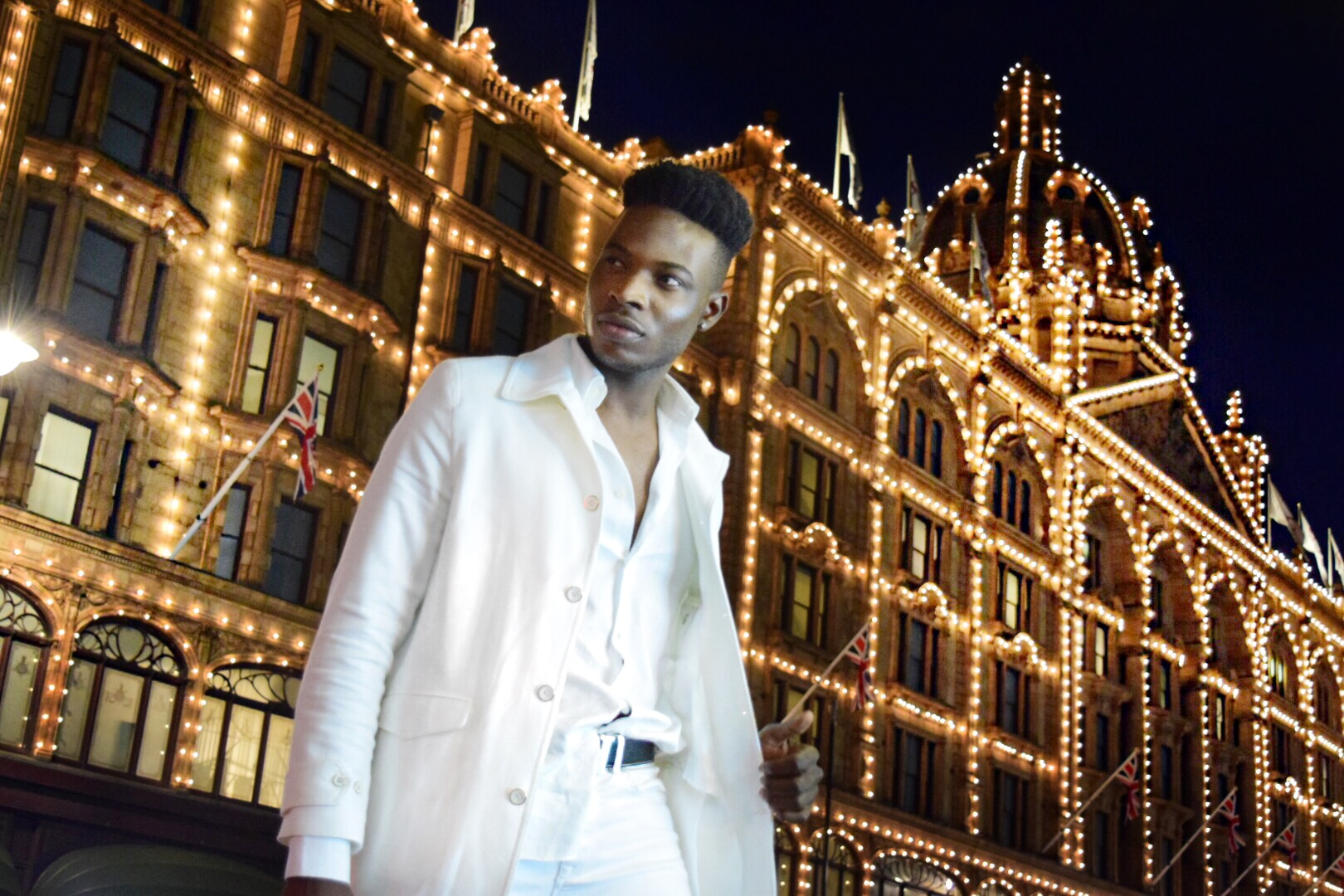 Harrods luxury shopping