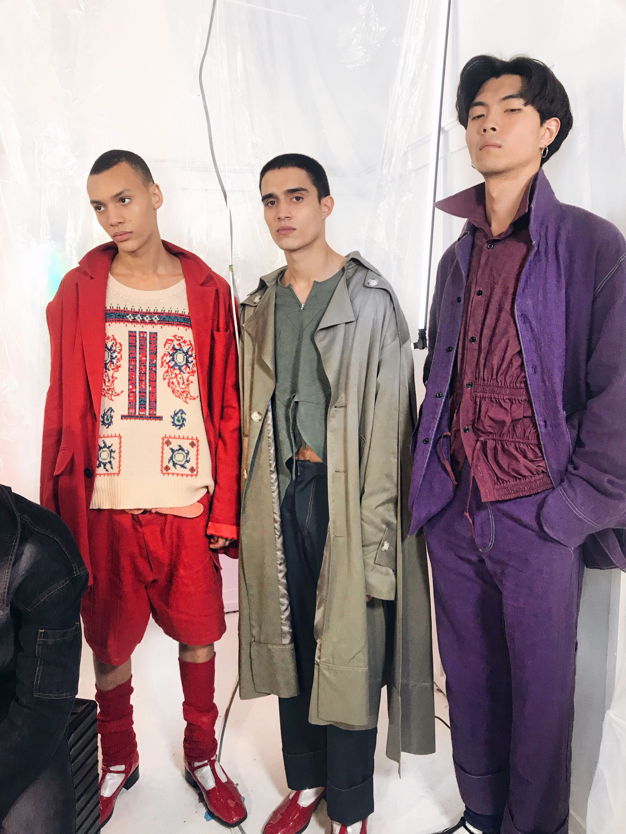 London fashion week men's Aw 18