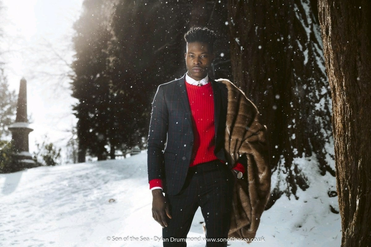 the love story of a young opulent black gentleman from a royal African background